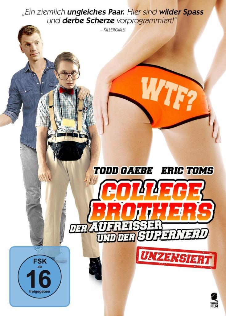 DVD-Hülle von College Brothers