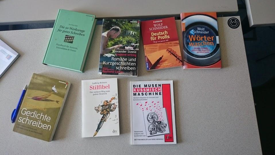 Sammlung von Büchern