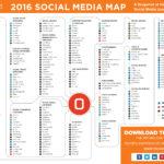 Social Media Map 2016